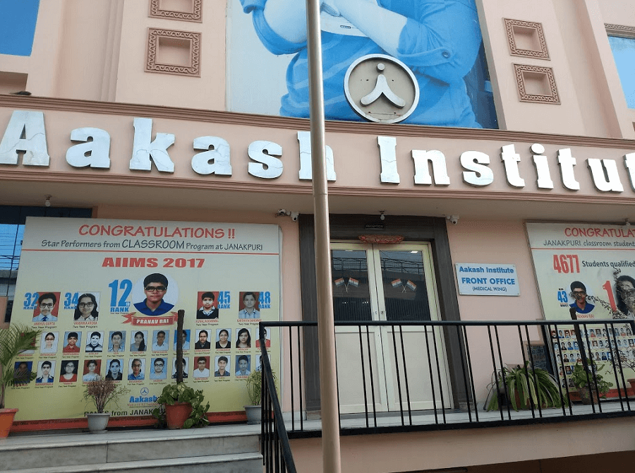 Aakash Institute (Medical Wing), Janakpuri, West Delhi | Fees, Reviews,  Batches, Contact, Ratings and more | Studydekho