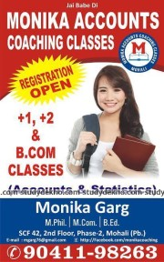 Monika Accounts Coaching Classes Logo
