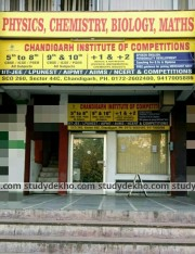 Chandigarh Institute of Competitions Logo