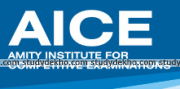 Amity Institute For Competitive Examinations (AICE) Logo