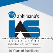 Abhimanu IAS Logo