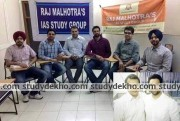 Raj Malhotras IAS STUDY GROUP Images