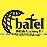 BAFEL Institute (British Academy for the English Language) Logo
