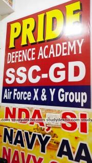 Pride Defence Academy Logo
