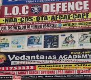 L.O.C DEFENCE ACADEMY Logo