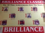 Brilliance Classes Logo