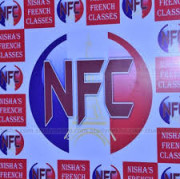 NISHAS FRENCH LANGUAGE Logo