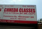 CHHEDA CLASSES Logo