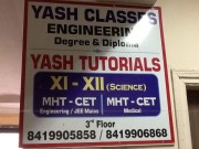 Yash Classes Logo