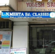 L.N Mehta education classes Logo