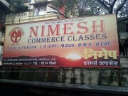 Nimesh Commerce Classes Logo