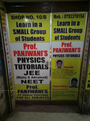 PROF.PANJWANIS PHYSICS TUTORIALS Logo
