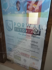 PORWAL TUTORIALS Logo