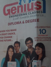 Genius ENGINEERING CLASSES Logo
