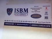 ISBM UNIVERSITY Logo