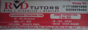 RVD Tutors Logo