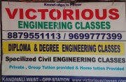 VICTORIOUS ENGINEERING CLASSES Logo