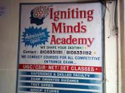 IGNITING MIND'S ACADEMY Logo