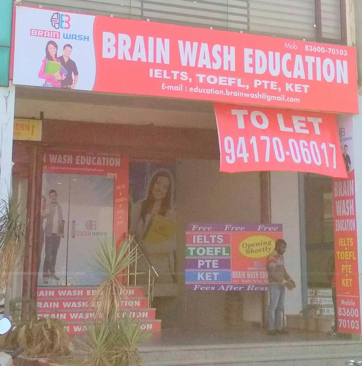 BRAIN WASH EDUCATION Logo