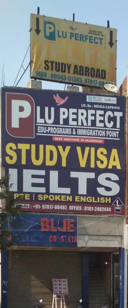 Plu Perfect Edu-programs and immigration point Logo
