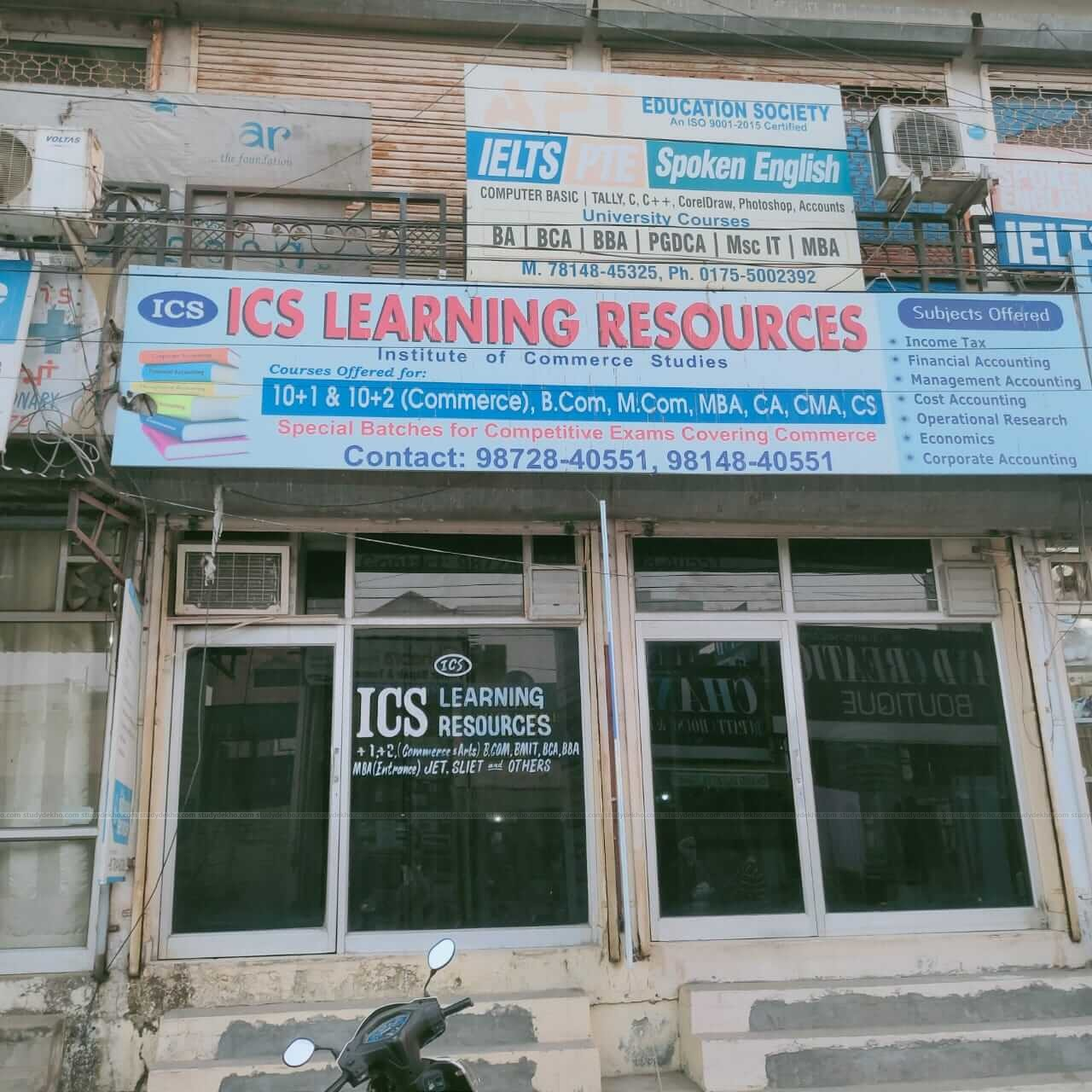ICS LEARNING RESOURCES Logo