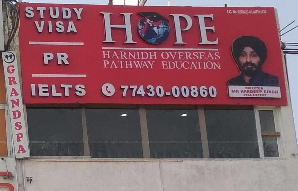 Harnidh Overseas Pathway Education Logo