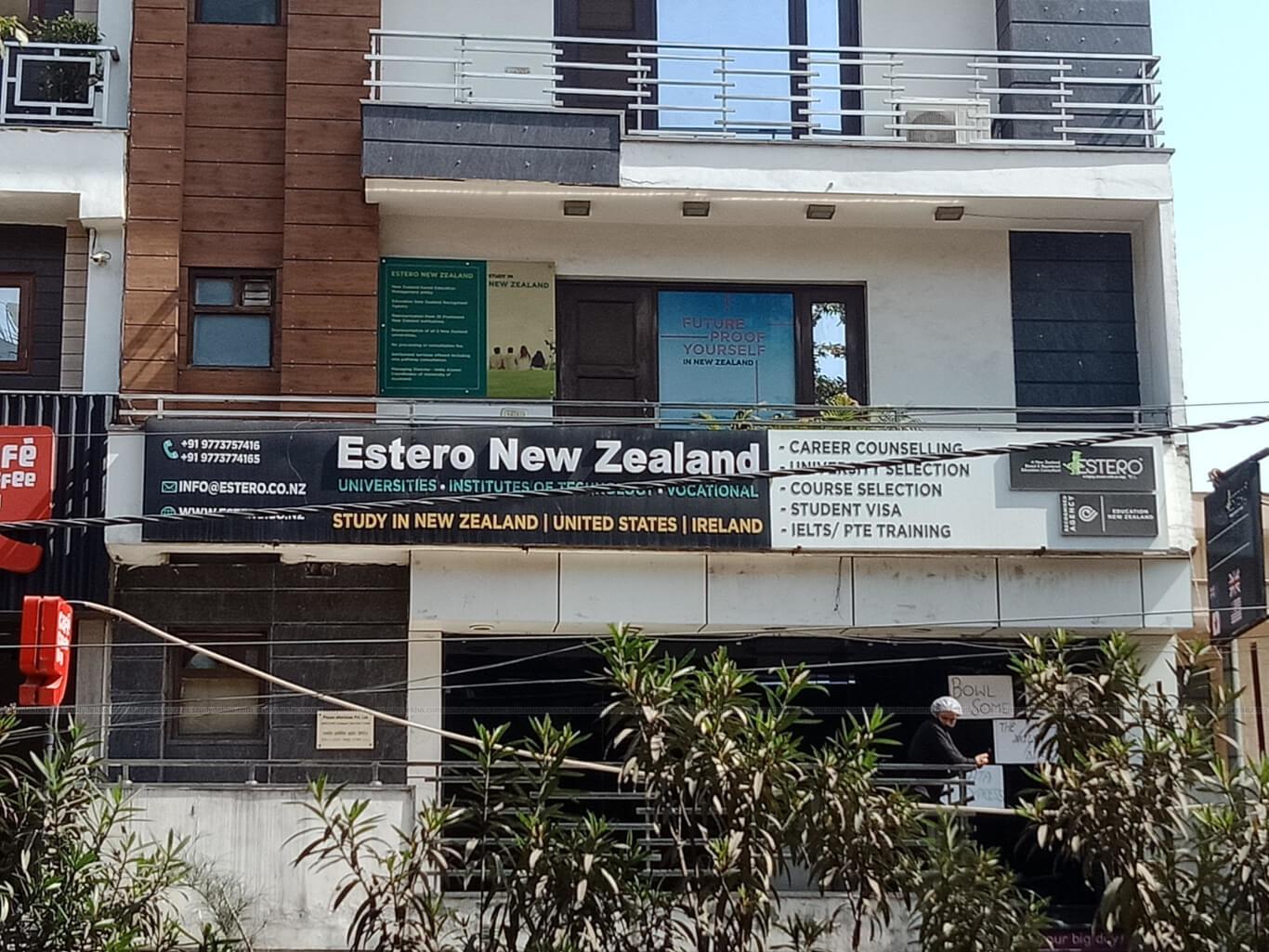ESTERO NEW ZEALAND Logo