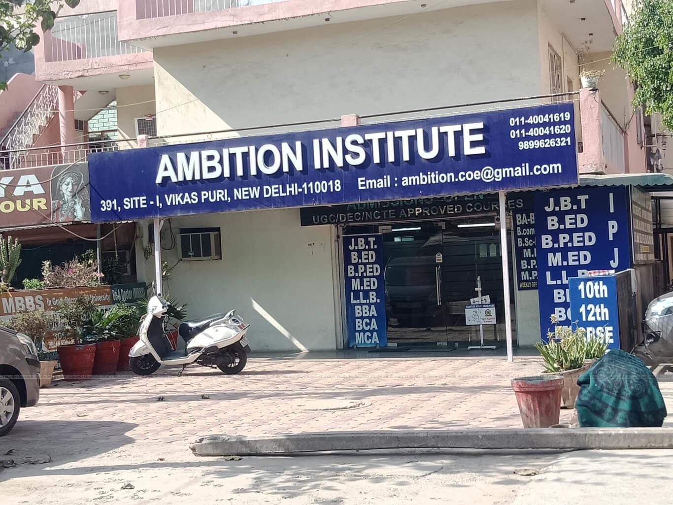AMBITION INSTITUTE Logo