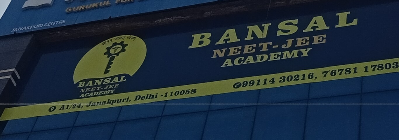 BANSAL NEET-JEE ACADEMY Logo
