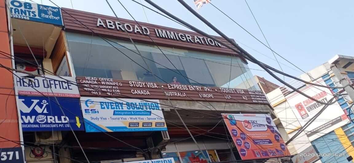 Abroad Immigration Services Pvt. Ltd. Bathinda Logo