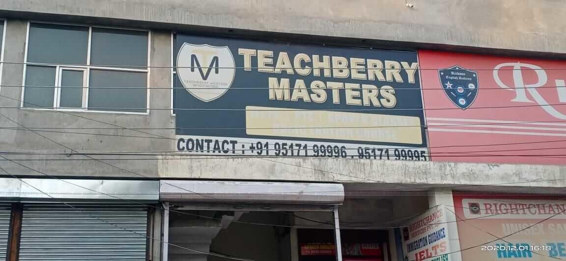 Teachberry Masters Logo
