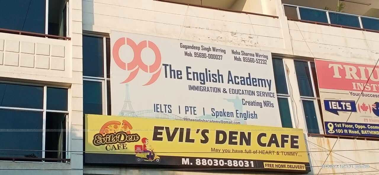99 The English Academy Logo