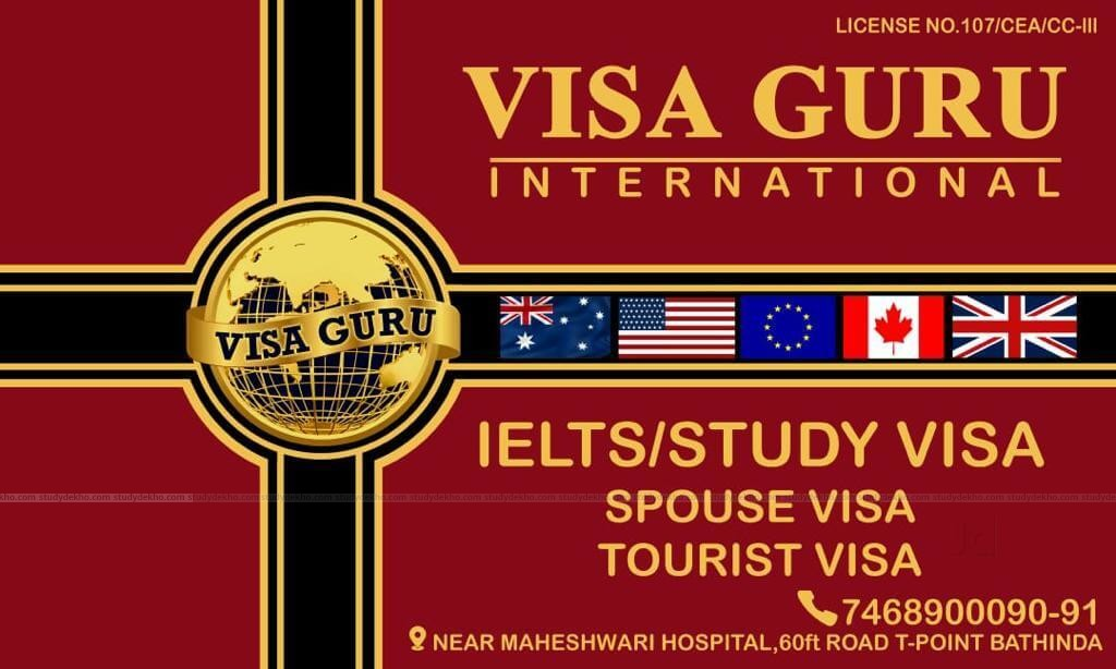 VISA GURU INTERNATIONAL Logo