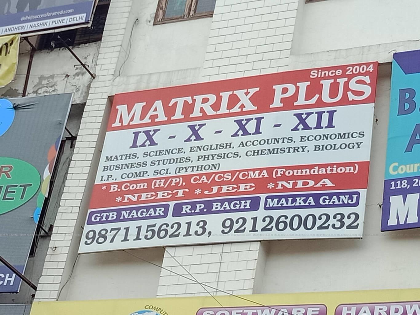 MATRIX PLUS Logo