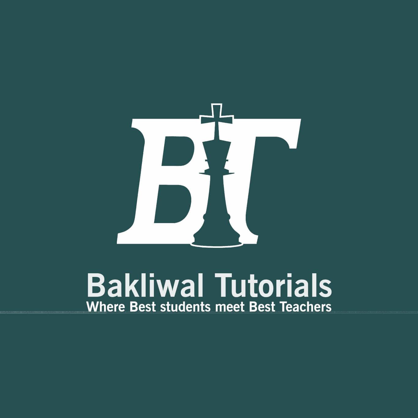 Bakliwal Tutorials Logo