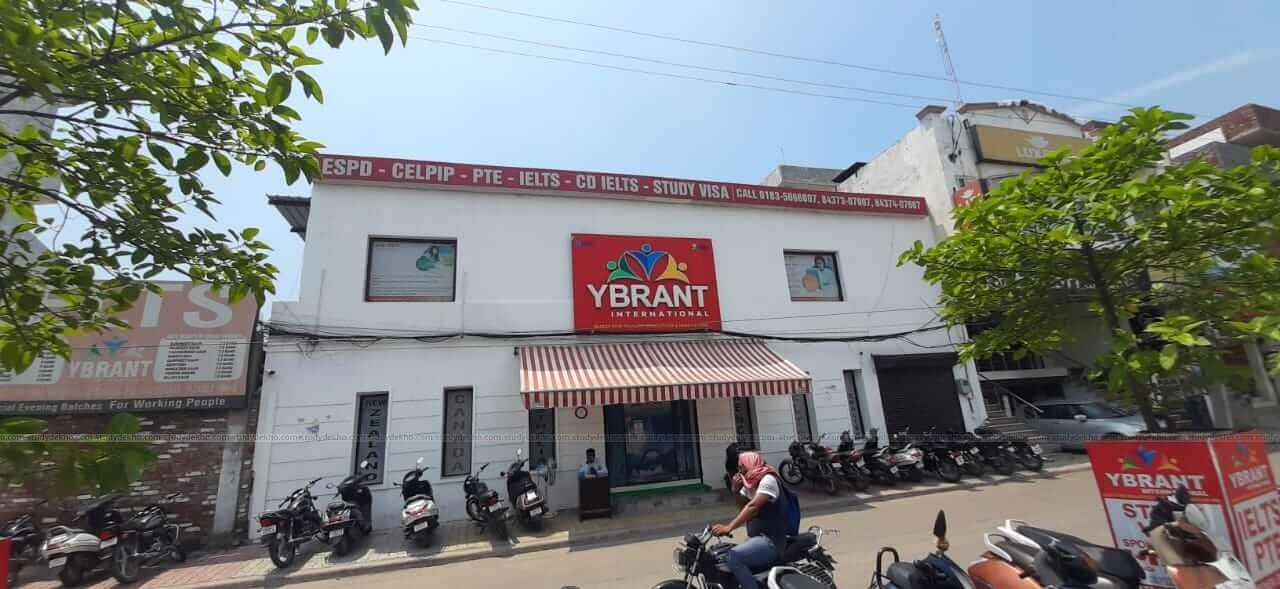 Ybrant international Logo