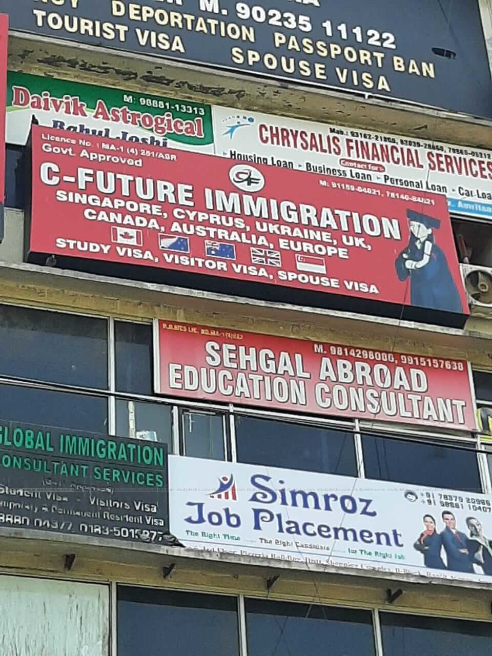C Future Immigration Group Logo