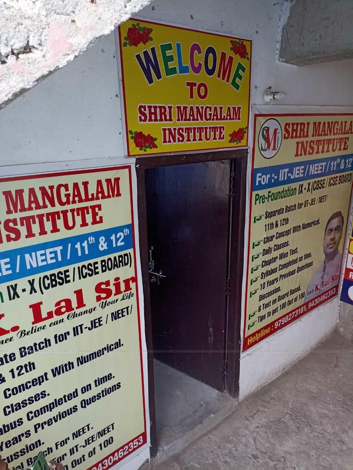 SHRI MANGALAM INSTITUTE Logo
