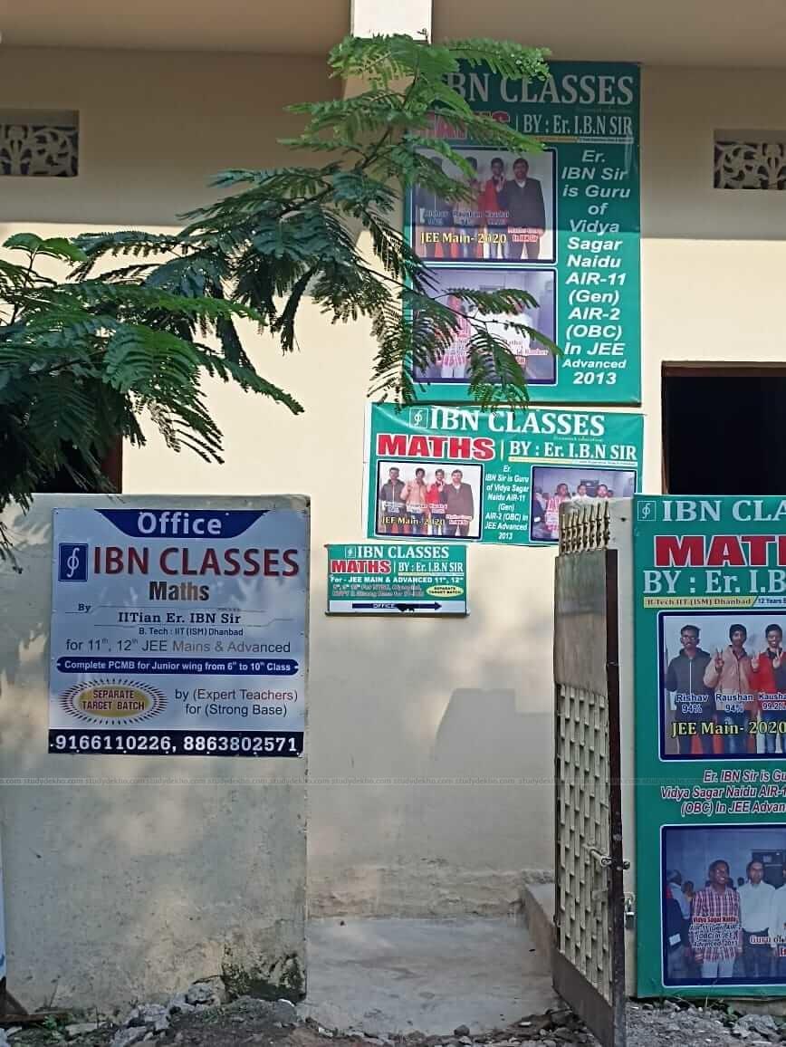 IBN CLASSES Logo