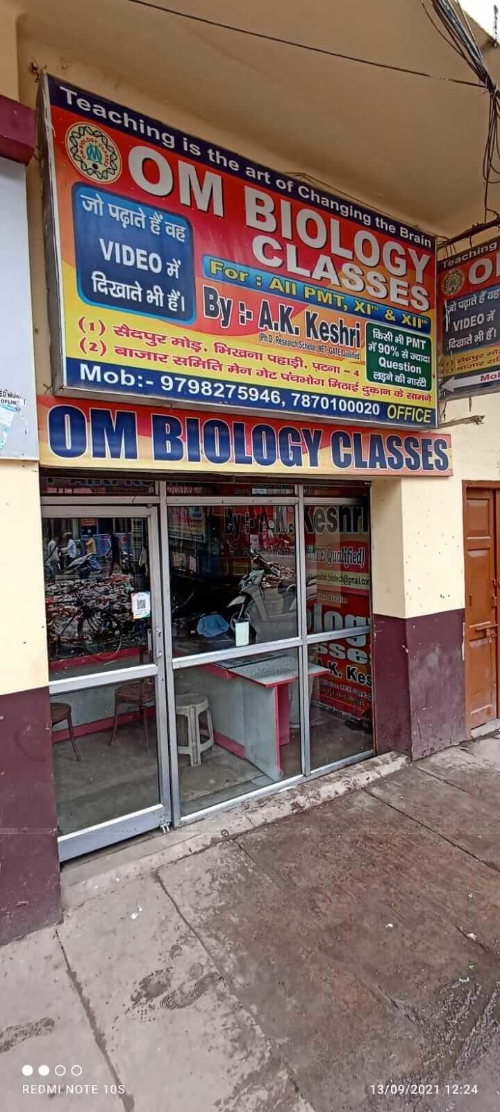 Om Biology Classes Logo