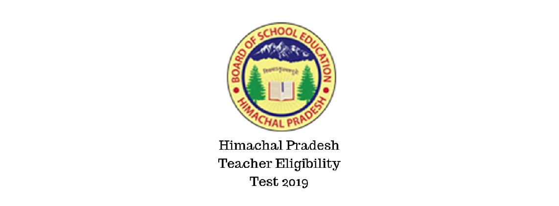 Himachal Pradesh Teacher Eligibility Test (HPTET)