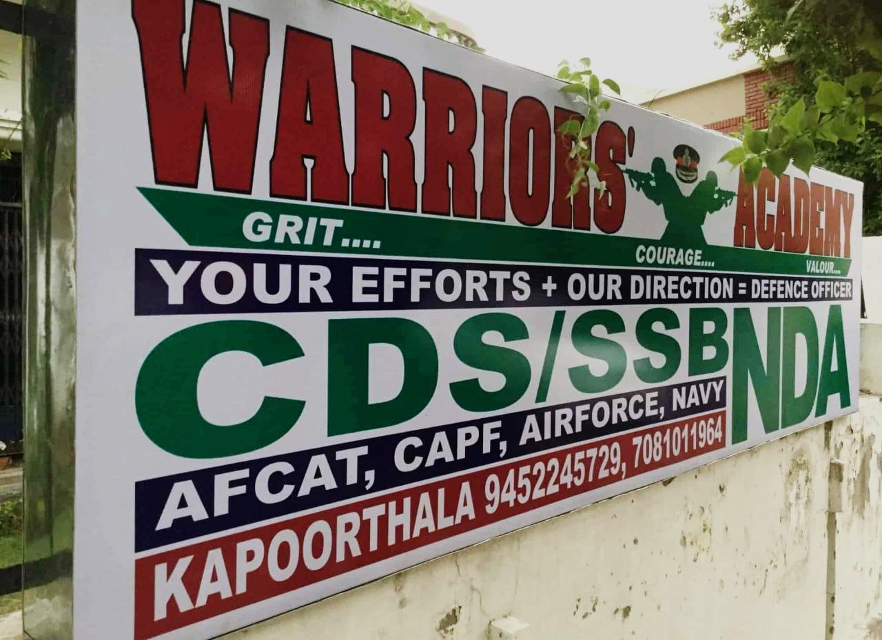 Warriors Defence Academy Logo