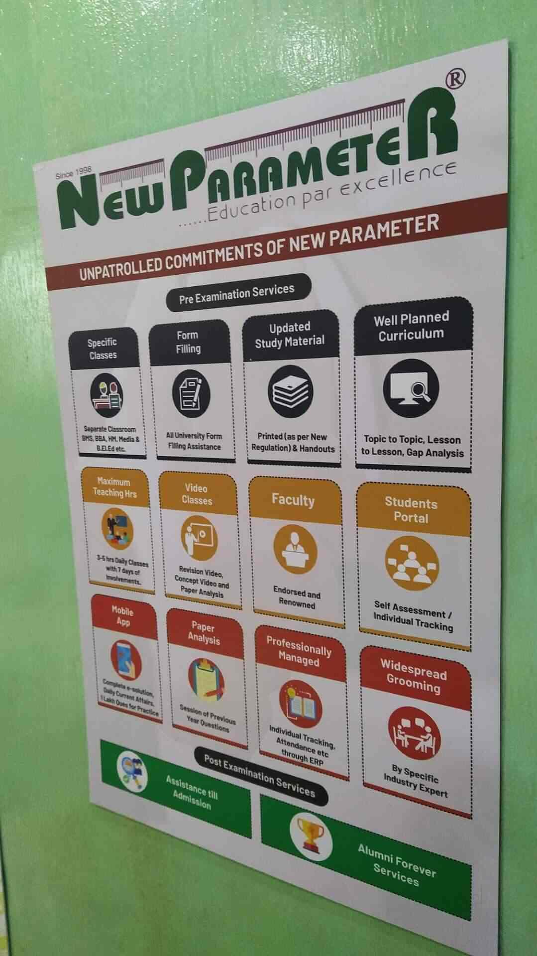 New Parameter Coaching Logo