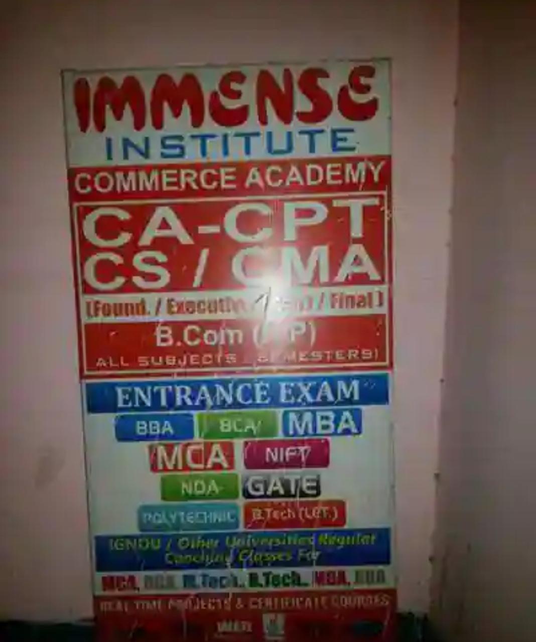 Immense Education Pvt. Ltd Logo