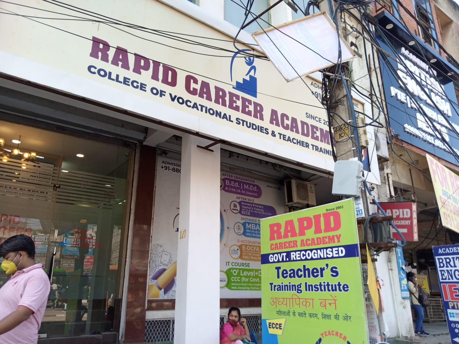 Rapid Career Academy Logo